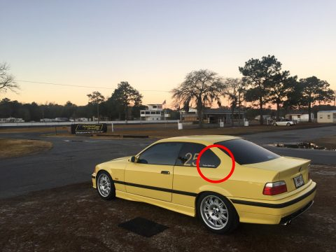 BMW Hofmeister kink e36 m3