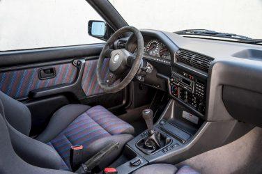 1990 BMW E30 M3 sport evolution interior