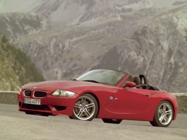 BMW Z4M roadster red