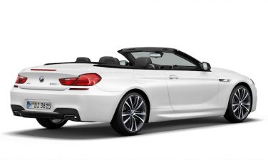 2014 BMW 6 series convertible Frozen White Edition