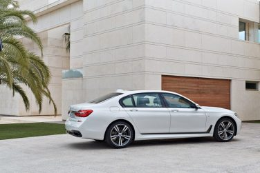 2016 BMW 7 series white