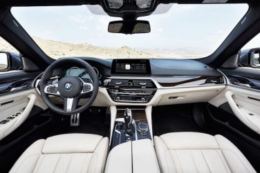 2017 BMW 5 series interior