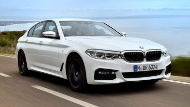 2017 BMW 5 series, white