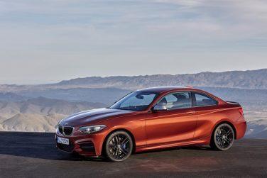 2018 BMW 2 series sunset orange
