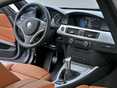 BMW e90 3 series interior
