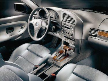 BMW 3 series interior sedan