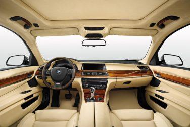 BMW 7 series individual interior