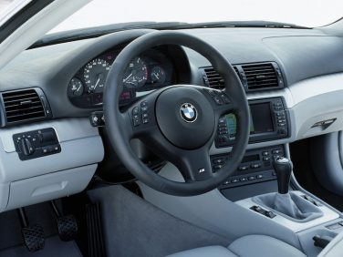 BMW E46 coupe interior