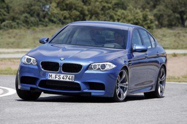 BMW F10 M5 blue