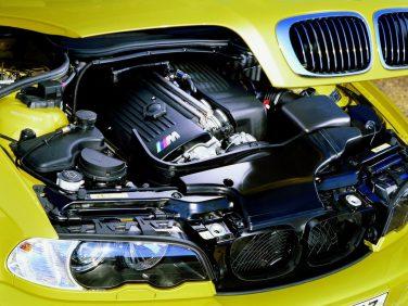 BMW E46 M3 S54 Phoenix Yellow