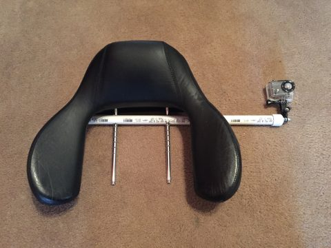 BMW Headrest GoPro Mount PVC DIY Homemade