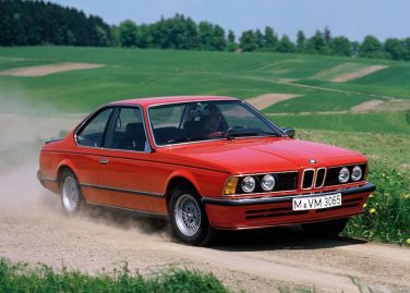 BMW E24 red 635CSi