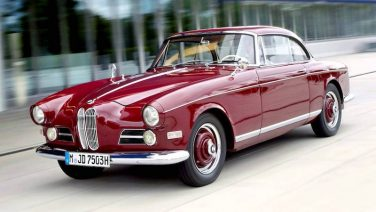 BMW 503 coupe red