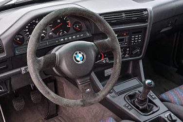 BMW E30 M3 Sport Evo Interior steering wheel