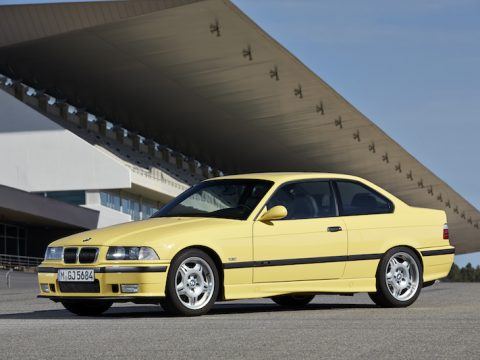 BMW E36 M3 dakar coupe