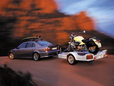 BMW E39 tow trailer