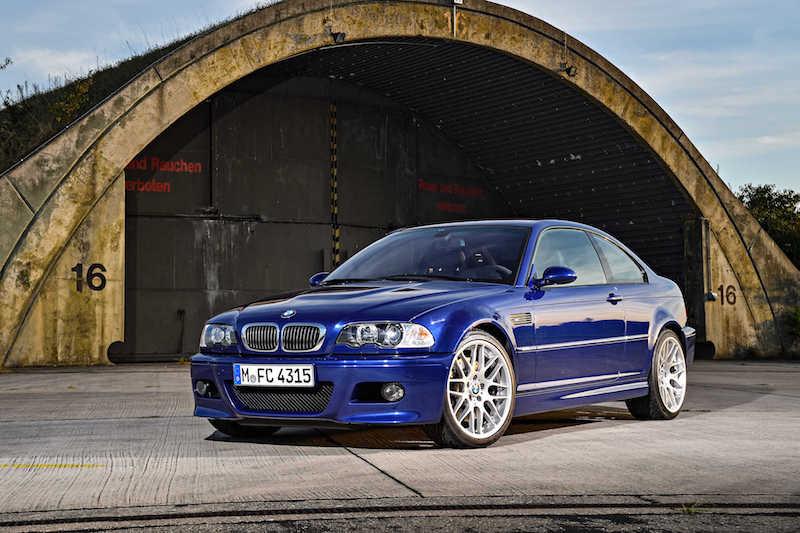 BMW E46 M3 Interlagos Blue
