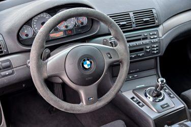BMW E46 M3 steering wheel control