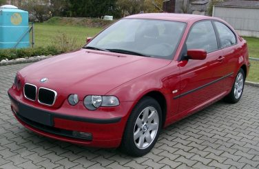 BMW E46/5 compact front red
