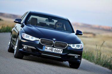 BMW F30 3 series luxury line
