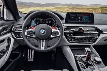 BMW F90 M5 interior