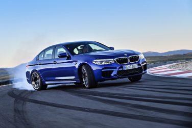 BMW G30 M5 blue