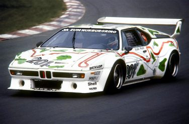 BMW M1 Nurburgring art car