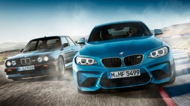 BMW M2 and E30 M3