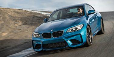 BMW M2 track