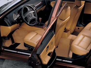 BMW E36 M3 sedan interior