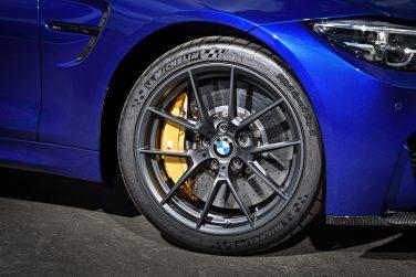 BMW M4 CS wheel Orbit Gray