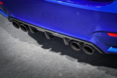 BMW M4 CS rear carbon diffuser