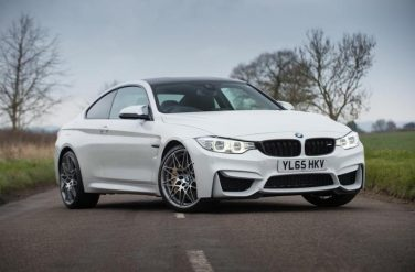 BMW M4 White Competition Package