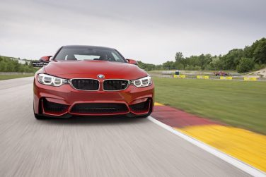 BMW M4 Front view Road America