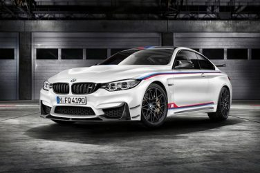 BMW M4 white