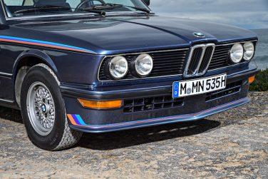 BMW E12 M535i front bumper