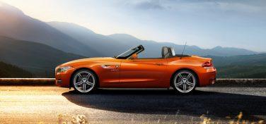 BMW Z4 side view