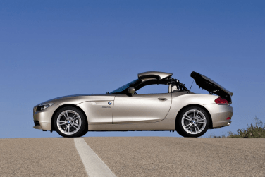BMW Z4 hardtop retractable