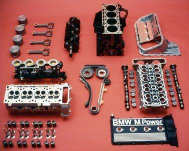 BMW S14 parts breakdown