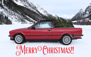 Christmas E30 pickup