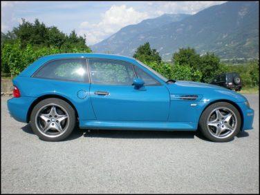 Laguna Seca blue s54 m coupe