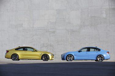 BMW M3 M4 group shot