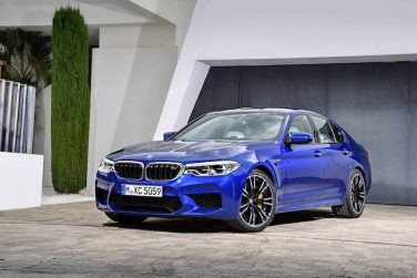 BMW f90 M5 marina bay blue