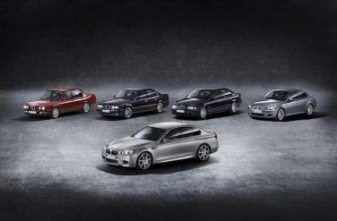 BMW F10 M5 30 Jahre