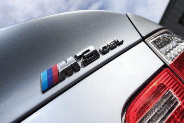 BMW E46 M3 CSL badge