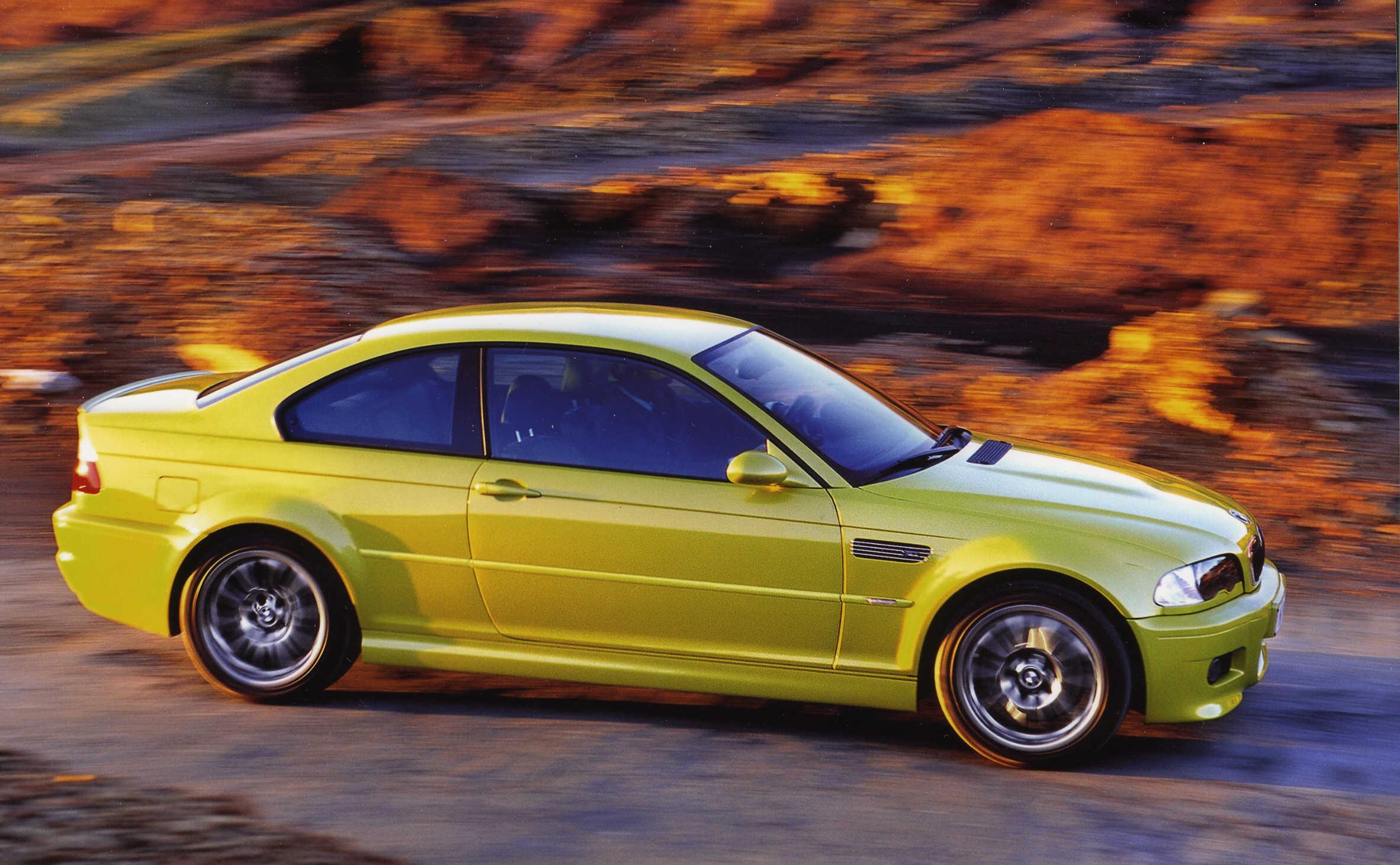 BMW E46 M3 Phoenix Yellow