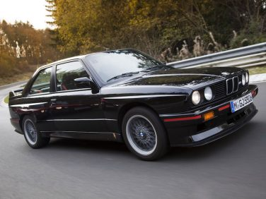 1990 BMW E30 M3 Sport Evolution Black