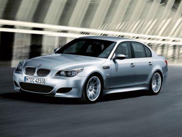 BMW E60 M5 silver