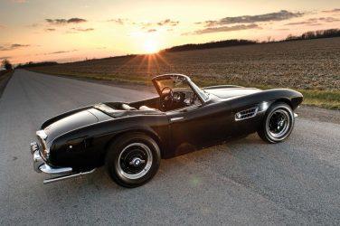 BMW 507 black