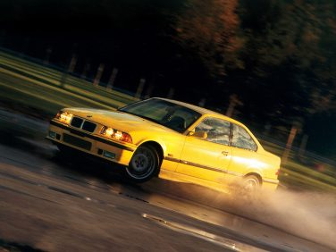 BMW E36 M3 1994 dakar yellow